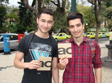 Aléxis Silva e Ricardo Pereira (11º 54)
